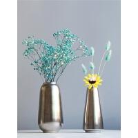 陶瓷餐桌小花瓶摆件简约现代装饰品