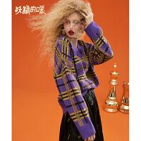 妖精的口袋 歌罗西书 冬季短款套头毛衣