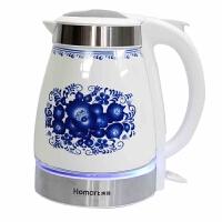 陶瓷电热水壶套装 保温泡茶壶玻璃茶具烧水壶