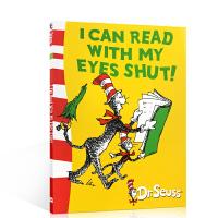 英文原版DR.SEUSS:I Can Read with My Eyes Shut:我可以闭着眼读书 苏斯博士系列