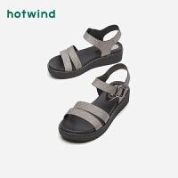 【限时特惠 1件4折】热风女士时尚凉鞋H59W9210