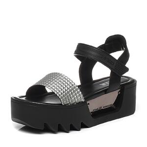 Belle/百丽夏季专柜同款女鞋BKA31BL6