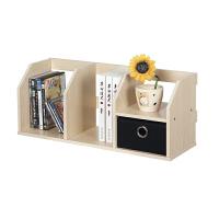 [当当自营]慧乐家 书架 带抽办公桌面收纳架 文件架 白枫木色 11218