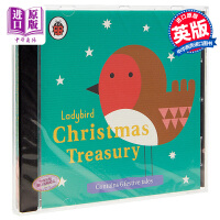 【中商原版】小瓢虫圣诞宝盒故事集 英文原版 Ladybird Christmas Treasury 6个圣诞故事 有故