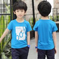 童装男童T恤夏装新款儿童夏季短袖体恤半袖上衣男孩上衣