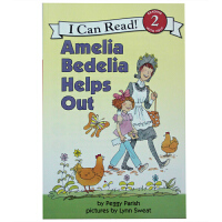 Amelia Bedelia Helps Out (I can Read Level 2)英文原版少儿书