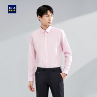HLA/海澜之家浪漫花纹长袖衬衫2020春季新品时尚质感正装长衬男