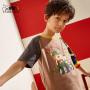小虎宝儿旗舰店男童纯棉短袖T恤2020夏装新款儿童洋气上衣中大童