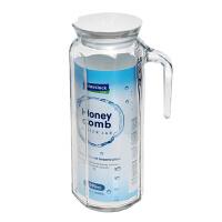 Glasslock凉水壶凉水杯子1090ml 盖朗玻璃冷水壶韩国保鲜玻璃水壶水瓶冰箱