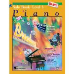 【预订】Alfred's Basic Piano Course Top Hits! Solo Book, Bk 3
