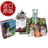 进口英文原版 包邮 Beauty & the Beast : A Pop-Up Book of the Classic