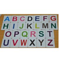 三合(sunhey)宝宝早教磁性英语教具26个英文大小写字母贴 磁力铁儿童学习卡片