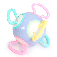 欧培 婴儿益智玩具曼哈顿手抓球 宝宝牙胶磨牙棒咬咬胶手摇铃