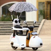 儿童礼物新款儿童电动摩托车三轮车6个月6岁轻便手推车小孩充电可坐玩具车*礼品儿童礼物