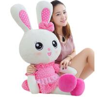 毛绒公仔娃娃送女生 小兔子毛绒玩具玩偶公仔女孩公主生日情人节礼物抱枕布娃娃可爱