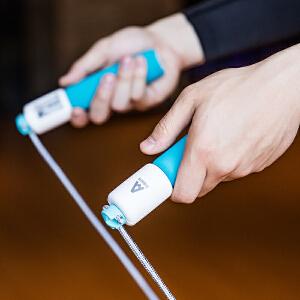 [满68包邮]得力风行F4103泡棉计数跳绳 成人专业健身学生考试体育器材