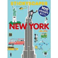 外文原版 Stickyscapes New York 纽约 贴纸书