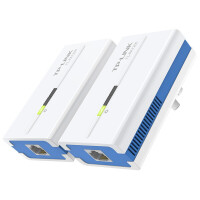 TP-LINK TL-PA1200套装 1200M千兆有线电力猫电力线适配器两只装免拉网线支持IPTV搭配无线路由器使
