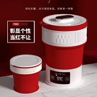 LIFE ELEMENT/生活元素 I25折叠电热水壶迷你旅行便携旅行烧水壶 隐藏手柄 可折叠