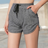运动短裤女夏季新款 透气瑜伽训练裤跑步速干休闲短裤