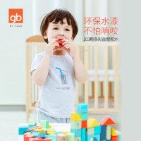 gb好孩子积木玩具儿童益智拼装智力1-2-3-6周岁宝宝玩具男女孩子