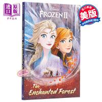 【中商原版】冰雪奇缘2:魔法森林Frozen2 冰雪奇缘 电影小说 儿童阅读 绘本故事 6~9岁 英文原版