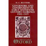 【预订】Governors and Government in Early Sixteenth-Century