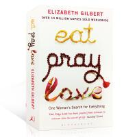 【进口正版包邮】Eat Pray Love 一辈子做女孩 英文原版小说 作者Elizabeth Gilbert 伊丽莎