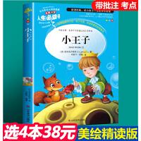 小王子 教育部新课标推荐书目-人生必读书 名师点评 美绘插图版