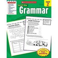 英文原版Scholastic Success With Grammar, Grade 2学乐成功英语 2年级语法