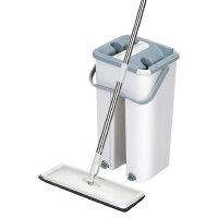 琪捷 家用免手洗拖把拖布桶平板拖把刮刮乐拖把桶QJ-A01