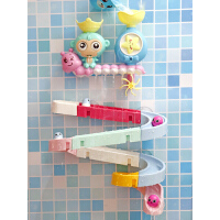 抖音同款宝宝洗澡玩具婴儿童转转乐玩水轨道花洒水上戏水玩具