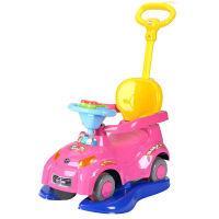 20180530122734037宝宝溜溜车滑行车带餐椅童车 孩子扭扭车音乐四轮手推车汽车模型玩具