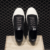 新款春季皮鞋男黑色皮鞋青年男鞋英伦系带皮鞋男士休闲鞋子男