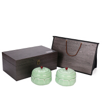 茶叶包装礼盒空通用半斤绿茶红茶叶罐陶瓷