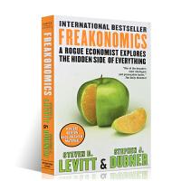 魔鬼经济学英文原版书籍 Freakonomics 史蒂芬 格林斯潘罗辑思维 英文原版进口书籍经济管理类行政人力资源管理