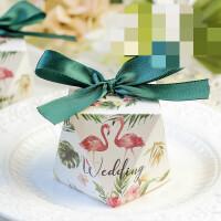 新钻石形结婚礼喜糖盒子个性创意结婚用品欧式礼品盒喜糖礼盒批发