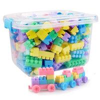 儿童塑料积木1玩具2益智力3拼装6拼插4女孩7男孩8开发10周岁礼物9