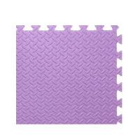 大学生宿舍泡沫地垫儿童爬行垫拼图卧室拼接地毯榻榻米60加厚地板 紫色 树叶纹.长宽60厚1.2CM送边条