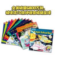 Magic School Bus Boxset 神奇校车英文原版 12本盒装  点亮彩虹科普百科读物 6-9岁桥梁书 Makes A Rainbow