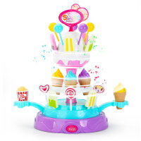 儿童过家家女童玩具女孩男冰激凌3冰淇淋蛋糕5-6岁4公主生日礼物
