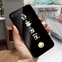 黑色好事发生iPhone6手机壳卡通彩绘苹果6splus保护套女7个性创意8情侣款XS MAX硬壳防摔可挂绳x玻璃耐磨