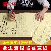 南国书香 小楷毛笔字帖楷书练习纸入门临摹书法纸心经描红宣纸