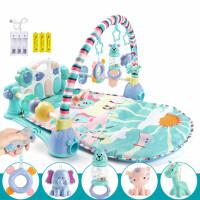 婴儿玩具新生儿宝宝脚踏钢琴健身架器益智男女孩0-3-6-12个月儿童
