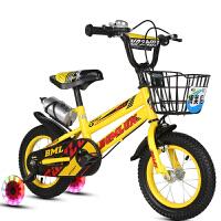 儿童自行车男孩女孩3-9岁童车14寸16寸18寸小孩单车脚踏车带辅助轮