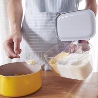 野炊烧烤日系简约厨房塑料手提调味盒三格组合一体调味盐罐味精佐料调料盒