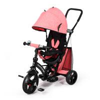 童车折叠婴儿手推车儿童三轮车脚踏车1-3-6岁宝宝自行车大号轻便