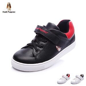 【179元任选2双】暇步士童鞋17年滑板鞋新款中大童搭扣系带休闲鞋男女童学生鞋 DP9062