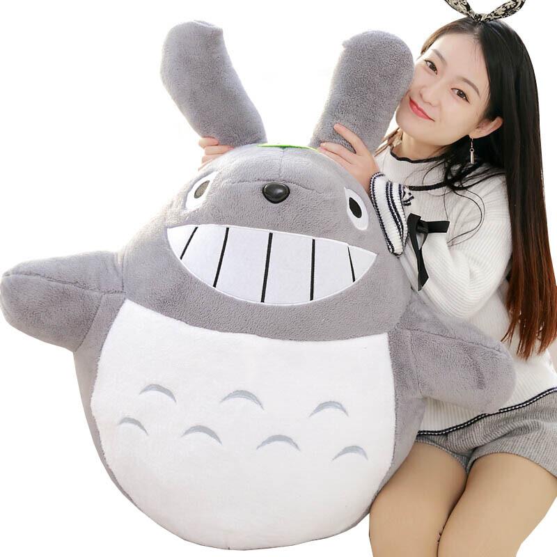 龙猫公仔抱枕毛绒玩具布娃娃睡觉抱枕玩偶宫崎骏大号龙猫送女生生日礼物*公仔 需要代写贺卡内容的写在留言里,以便帮您写好呦