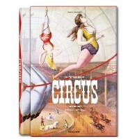 原版包邮 THE CIRCUS 1870-1950S 太阳马戏团复古海报 taschen